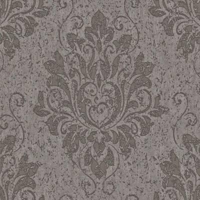 Rasch Textil Indigo   226255   Vliestapete Muster & Motive   0.53 m x 10.05 m   Braun