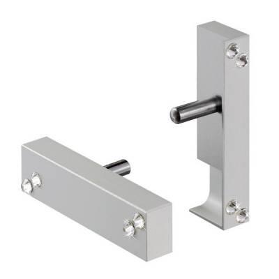 Verbindungselement mit Swarovski-Steinen | für Design-Aluminium Fußleiste / Sockelleiste