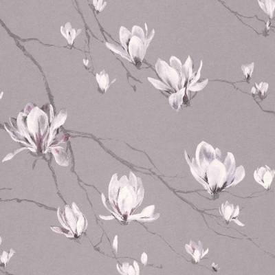Rasch Textil Jaipur | 227504 | Vliestapete Muster & Motive | 0.53 m x 10.05 m | Braun