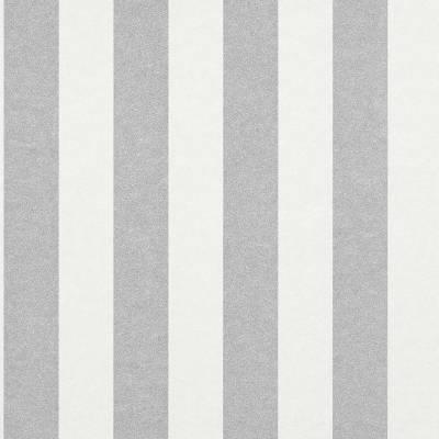 Rasch Textil Comtesse | 225432 | Vliestapete Streifen | 0.53 m x 10.05 m | Grau