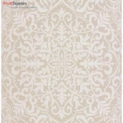Rasch Textil Vision | 022812 | Vliestapete Muster & Motive | 0.52 m x 10.05 m | Beige