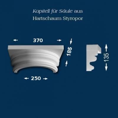 "Säulenkapitell ""Wiesemann SK13-1"" - unbeschichtet"