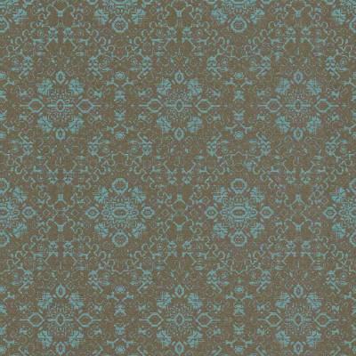 Rasch Textil Palau   228938   Vliestapete Muster & Motive   0.53 m x 10.05 m   Blau