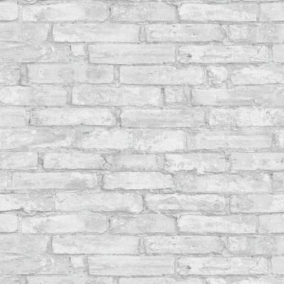 Erismann Imitations | 6318-10 | Vliestapete Steintapete | 0.53 m x 10.05 m | Grau