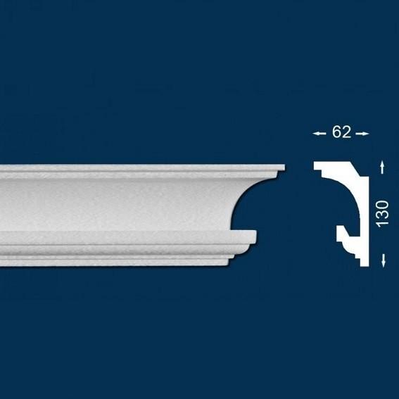10 Meter - Lichtleiste `Wiesemann LL1` - Stuckleiste für indirekte Beleuchtung - Sparpack