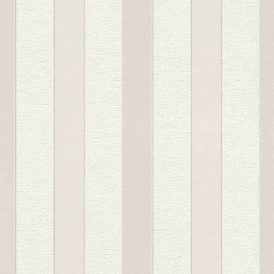 Rasch Cato | 801453 | Vliestapete Streifen | 0.53 m x 10.05 m | Beige