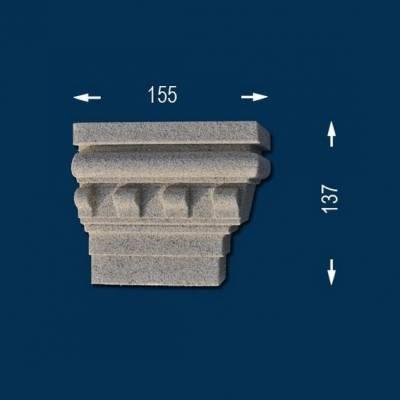 """Fassadenprofile """"Wiesemann FP16-b"""" - Endstück rechts"""