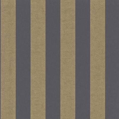 Rasch Textil Comtesse | 225456 | Vliestapete Streifen | 0.53 m x 10.05 m | Grau