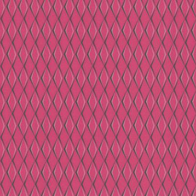 Rasch Cato | 800708 | Vliestapete 3D Optik | 0.53 m x 10.05 m | Rosa