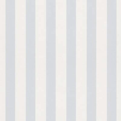 Rasch Bambino XVII | 246025 | Papiertapete Streifen | 0.53 m x 10.05 m | Blau