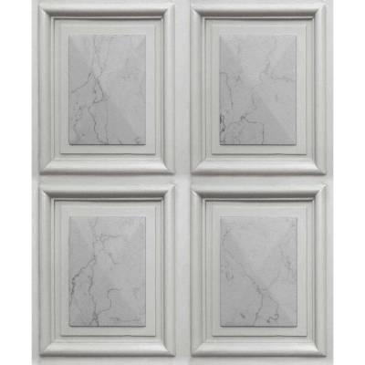 Erismann Imitations   631910   Vliestapete 3D Tapete   0.53 m x 10.05 m   Grau