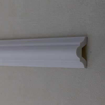 """Zierleiste / Wandleiste """"Rovigo"""" von Wiesemann, aus hochfestem Polystyrol, stoßfest und wasserfest"""