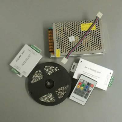 LED-Set RGB für indirekte Beleuchtung SMD5050 mit 60 LED pro Meter - 5 - 20 Meter