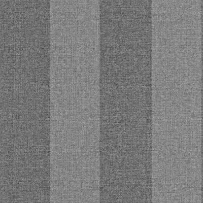 Rasch Textil Indigo | 226538 | Vliestapete Streifen | 0.53 m x 10.05 m | Grau