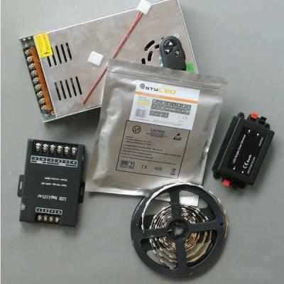 LED-Set mit Dimmer indirekte Beleuchtung SMD3528, 60 LED je Meter, 5-40 Meter LED-Stripe /-Streifen