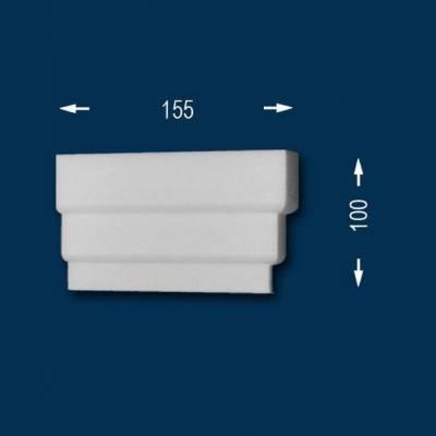 """Fassadenprofile """"Wiesemann FP9"""" - Endstück rechts"""