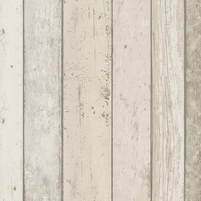A.S. Creation Best of Wood'n Stone | 895110 | Vliestapete Holzoptik | 0.53 m x 10.05 m | Beige