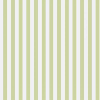 Rasch Textil Strictly Stripes VI | 289106 | Vliestapete Streifen | 0.53 m x 10.05 m | Grün