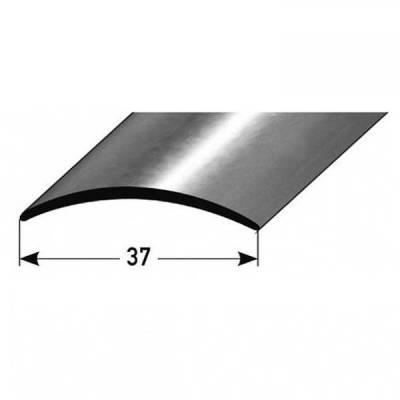 """Übergangsprofil """"Kampen"""" / Übergangsschiene, 37 mm, Typ: 15 (Edelstahl poliert / matt, 1 mm Stäke)"""