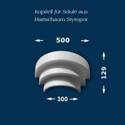 "Säulenkapitell ""Wiesemann SK18-3"" - unbeschichtet"