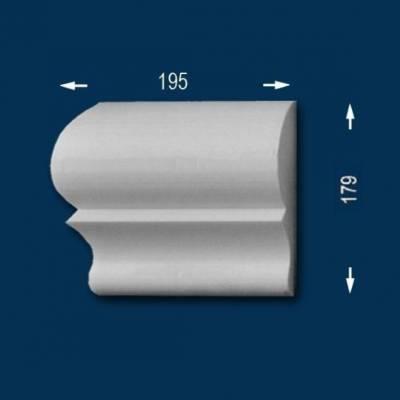 "Fassadenprofile ""Wiesemann FP22"" - Endstück links"