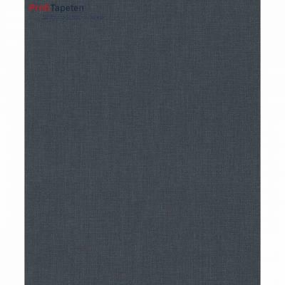 Rasch Textil Cassata | 077185 | Vliestapete Einfarbig | 0.53 m x 10.05 m | Schwarz