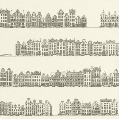 Rasch Textil Portobello | 289540 | Papiertapete Muster & Motive | 0.53 m x 10.05 m | Beige
