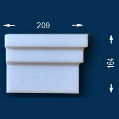 """Fassadenprofile """"Wiesemann FP17"""" - Endstück rechts"""