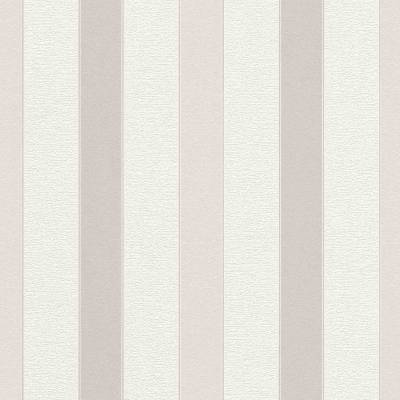 Rasch Cato   801446   Vliestapete Streifen   0.53 m x 10.05 m   Beige