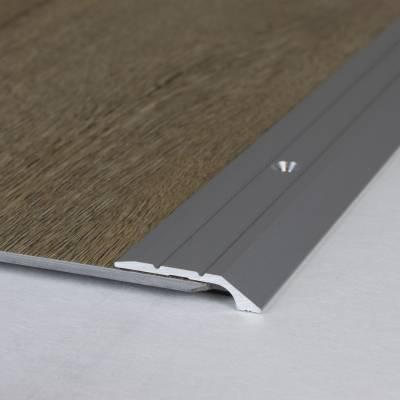 """Abschlussprofil / Abschlussleiste """"Maryville"""", 4,5 mm Einfasshöhe, Aluminium eloxiert, gebohrt"""