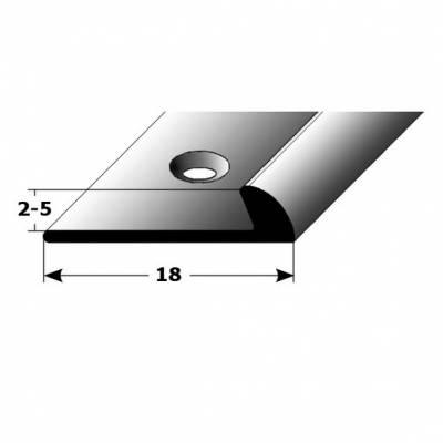 """Einfassschiene """"Wexford"""" Einfassung, 2 - 5 mm Einfasshöhe, Aluminium eloxiert, Typ 269"""