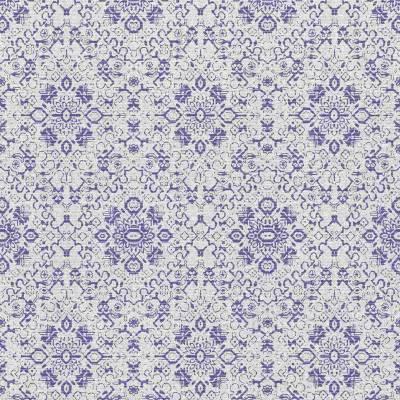 Rasch Textil Palau   228891   Vliestapete Muster & Motive   0.53 m x 10.05 m   Blau