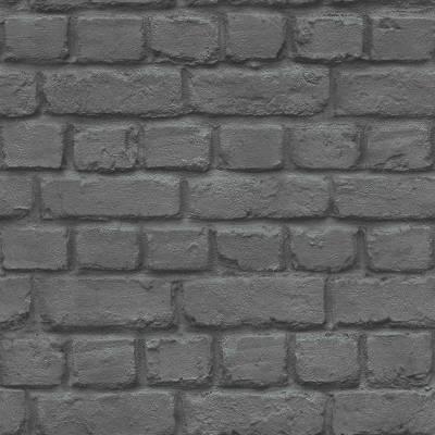 Rasch Kids & Teens III   226744   Papiertapete Stein & Betonoptik   0.53 m x 10.05 m   Grau