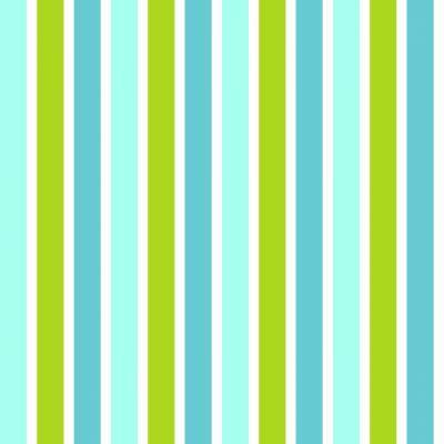 Rasch Textil Everybody Bonjour   138703   Vliestapete Streifen   0.53 m x 10.05 m   Grün