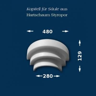 "Säulenkapitell ""Wiesemann SK16-3"" - unbeschichtet"