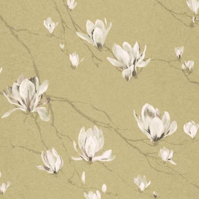 Rasch Textil Jaipur | 227559 | Vliestapete Muster & Motive | 0.53 m x 10.05 m | Gelb