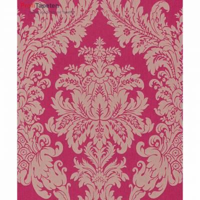 Rasch Textil Cassata   077239   Vliestapete Muster & Motive   0.53 m x 10.05 m   Rot