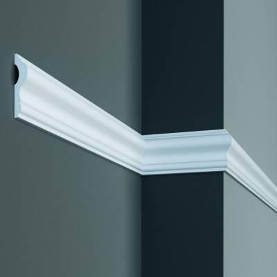 Stuckleiste | Deckenleiste | 100 mm x 50 mm | Polyurethan | P889 | wasserfest | Zierleiste