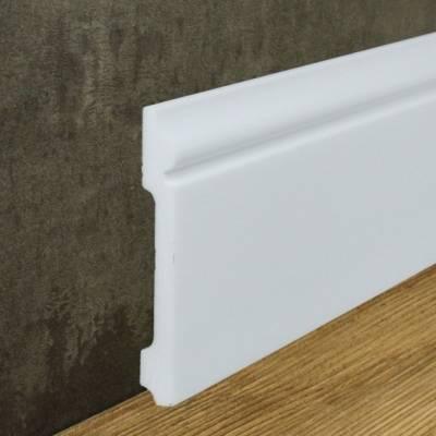 """Fußbodenleiste """"Aalborg"""" (NMC FLOORSTYL® - FL2) aus schlagfestem, wasserbeständigem Kunststoff"""