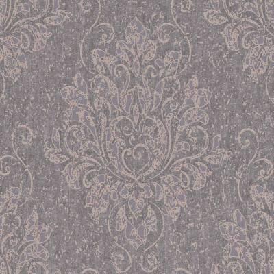 Rasch Textil Indigo | 226248 | Vliestapete Muster & Motive | 0.53 m x 10.05 m | Braun
