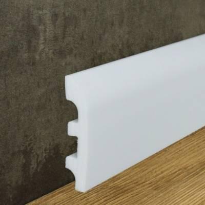 """Fußbodenleiste """"Bornholm"""" (NMC FLOORSTYL® - FL5) aus schlagfestem, wasserbeständigem Kunststoff"""