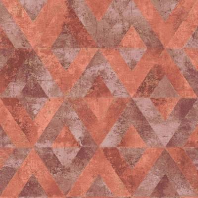Rasch Yucatan   535549   Vliestapete 3D Tapete   0.53 m x 10.05 m   Rot