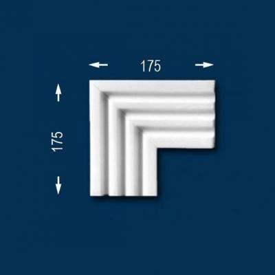 """Fassadenprofile """"Wiesemann FP7"""" - Eckstück"""