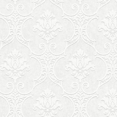 A.S. Creation Meistervlies   354761   Vliestapete Barock   0.53 m x 10.05 m   Weiß