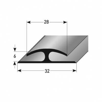 """PVC-Einfassleiste """"Abrantes"""" Doppelseitige Einfassleiste, 6 mm Einfasshöhe, weiches PVC, Typ 357"""