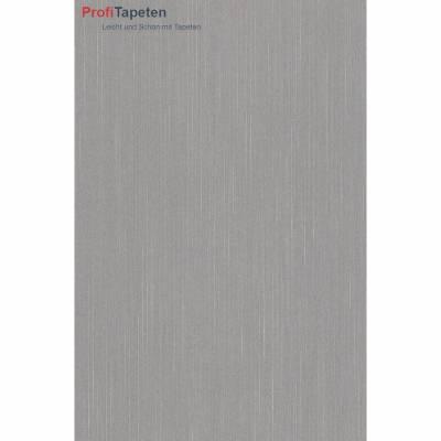 Rasch Textil Liaison | 073187 | Vliestapete Einfarbig | 0.53 m x 10.05 m | Grau