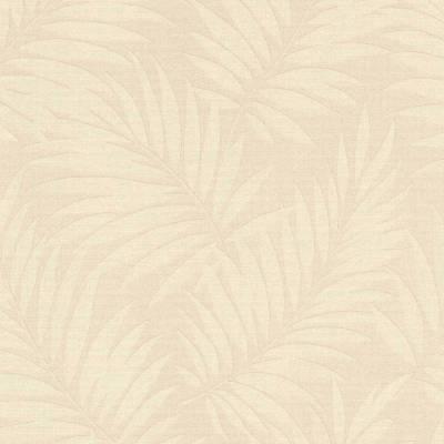 Rasch BARBARA Home Collection | 527544 | Vliestapete Blumen | 0.53 m x 10.05 m | Beige