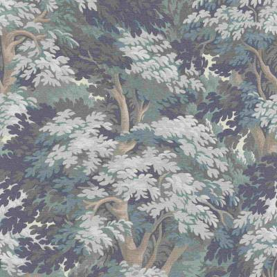 Rasch BARBARA Home Collection | 528251 | Vliestapete 3D Optik | 0.53 m x 10.05 m | Blau