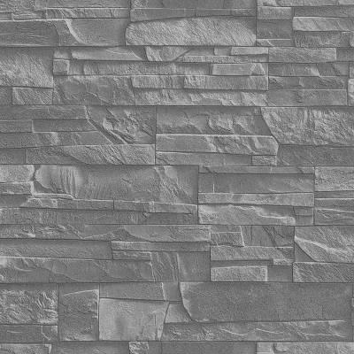 Rasch Factory III   475029   Vliestapete Muster & Motive   0.53 m x 10.05 m   Grau