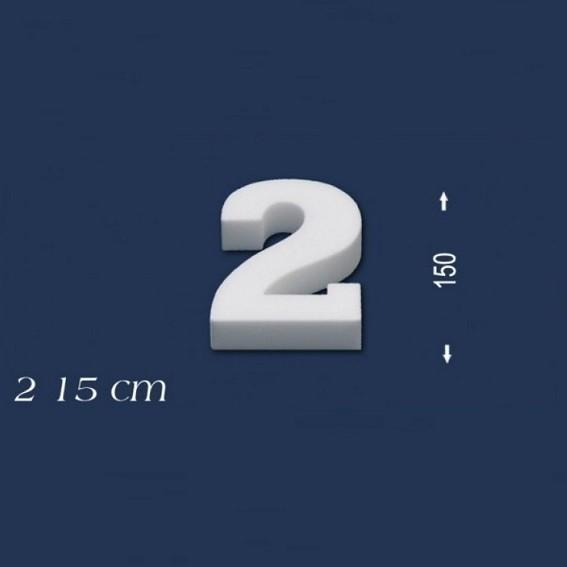 Ziffer ´´2´´ - Größe 15 cm